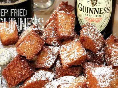 Deep-fried Guinness