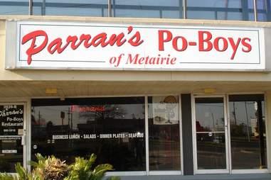 Parran's Po-Boys of Metairie