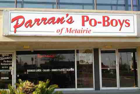 Parran's Po-Boys of Metairie