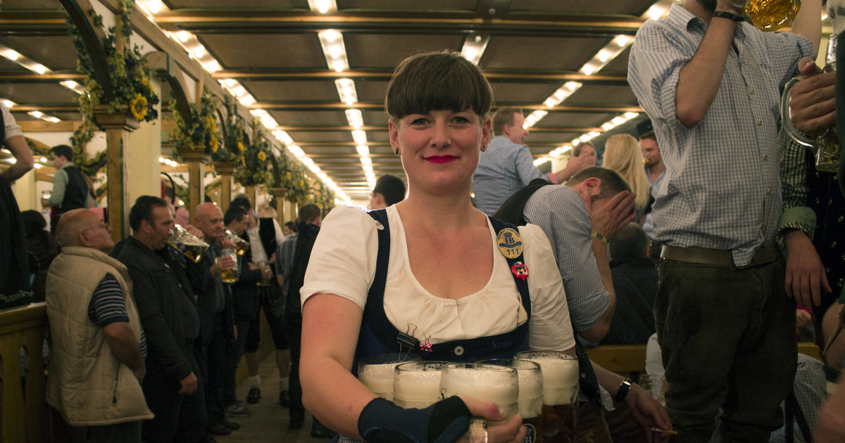 Oktoberfest waitress training -- What it takes to work in the Hofbrau tent  - Thrillist