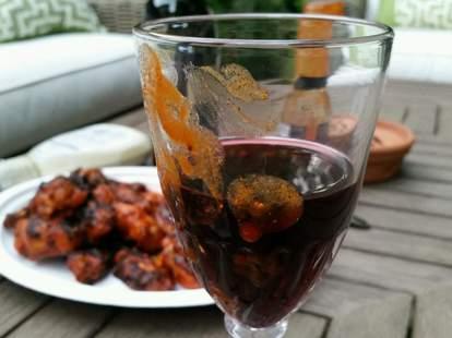 wings wine pairing