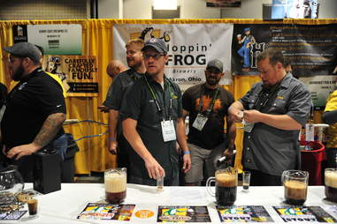 Hoppin Frog at Great American Beer Festival