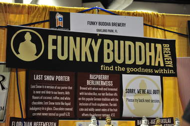 Funky Buddha at the Great American Beer Festival