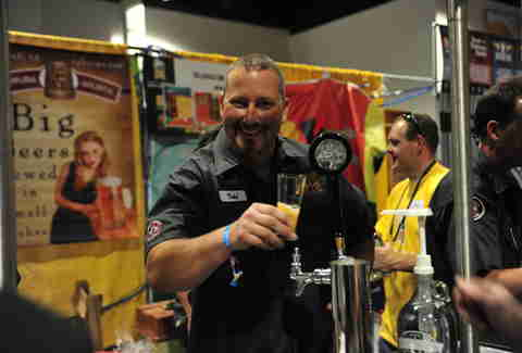 Topping Goliath at Great American Beer Festival
