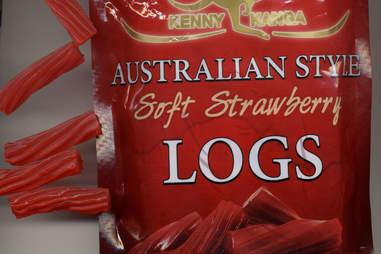australian style liquorice logs