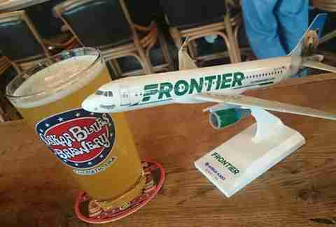 frontier and beer