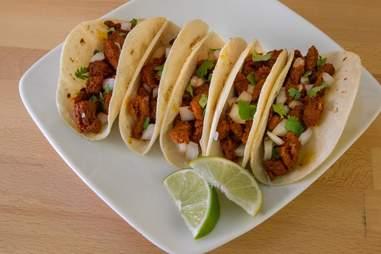 Tacos de Trompo at El Agave Azul Davie