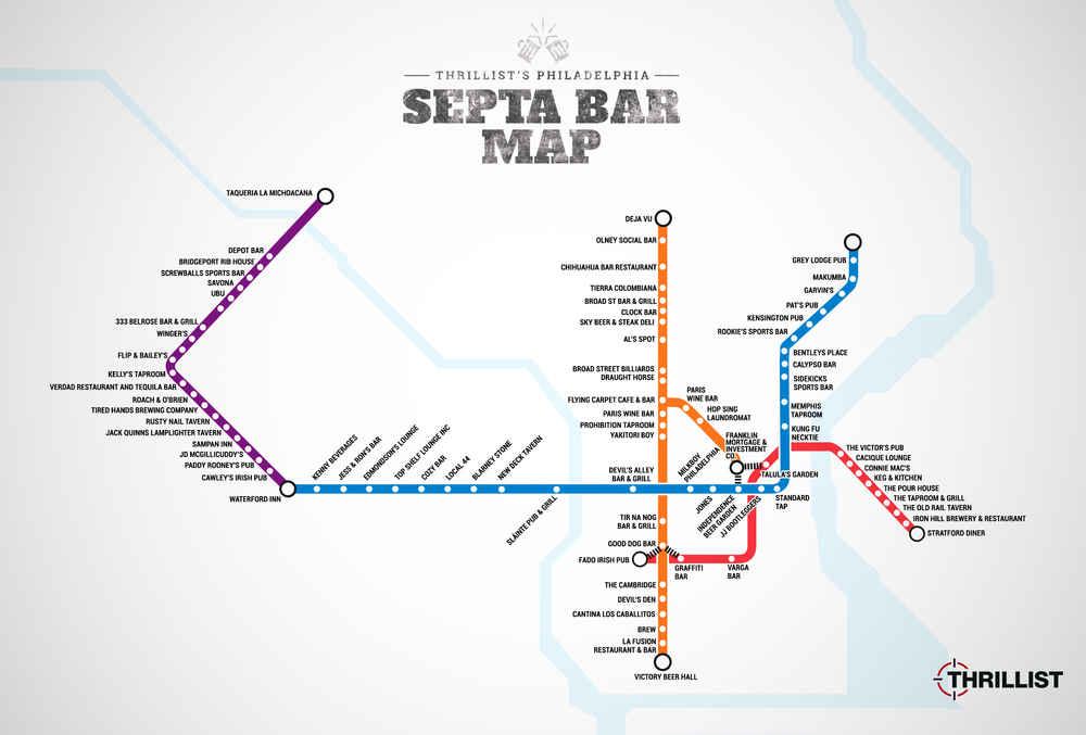 Septa Subway Map