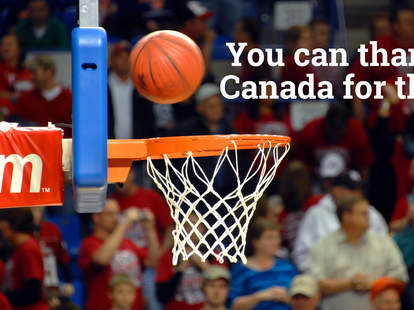 Basketball is from Canada