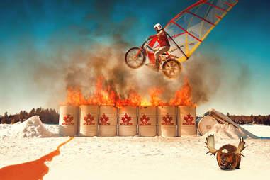 Moose Knuckles ad