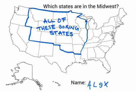 Which States Are In The Midwest Thrillist - Map of midwest states