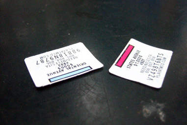 McDonald's Monopoly stamps