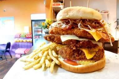 mt. fuji burger