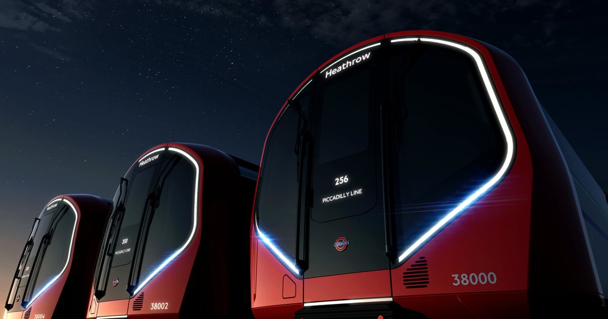 Self-driving trains? London's about to have them.