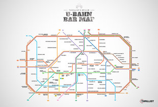 Berlin's first-ever U-Bahn Bar Map