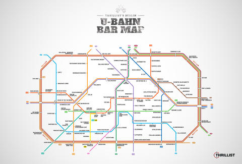 Berlin U Bahn Map