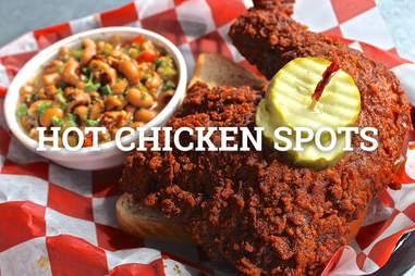 hot chicken spots