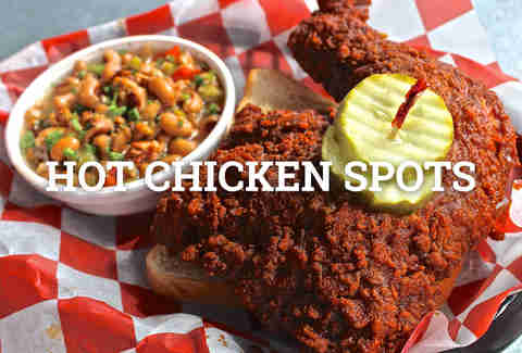 hot chicken spots