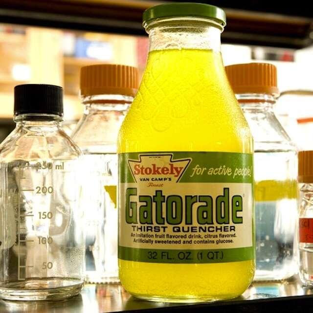 Old Gatorade bottle