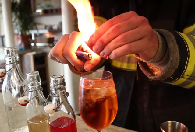 Punch People Making Drinks Video Series