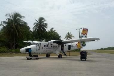 Tiny Island Plane