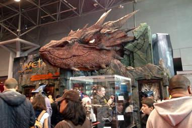 The Hobbit Smaug statue