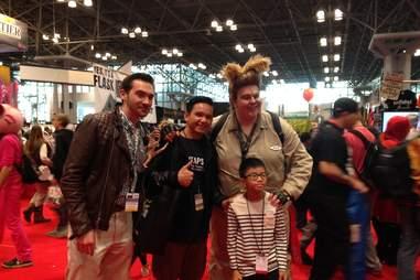 New York Comic Con Spaceballs costumes