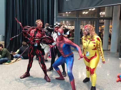 Spider-Man and villains