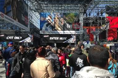 New York Comic Con entrance