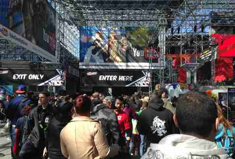 New York Comic Con entrance
