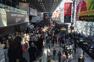 New York Comic Con crowd