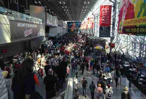 New York Comic Con crowd
