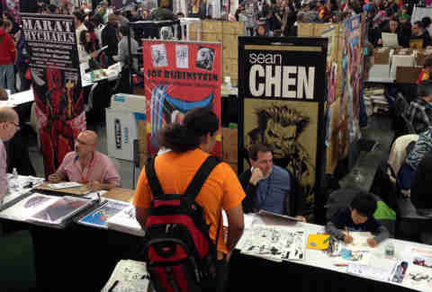 New York Comic Con Artist Alley