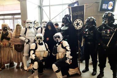 Imperial Fleet costumes
