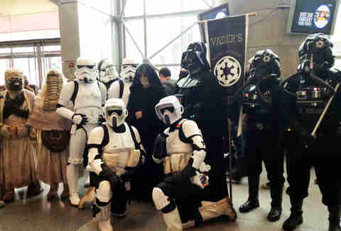 Imperial Fleet costumes