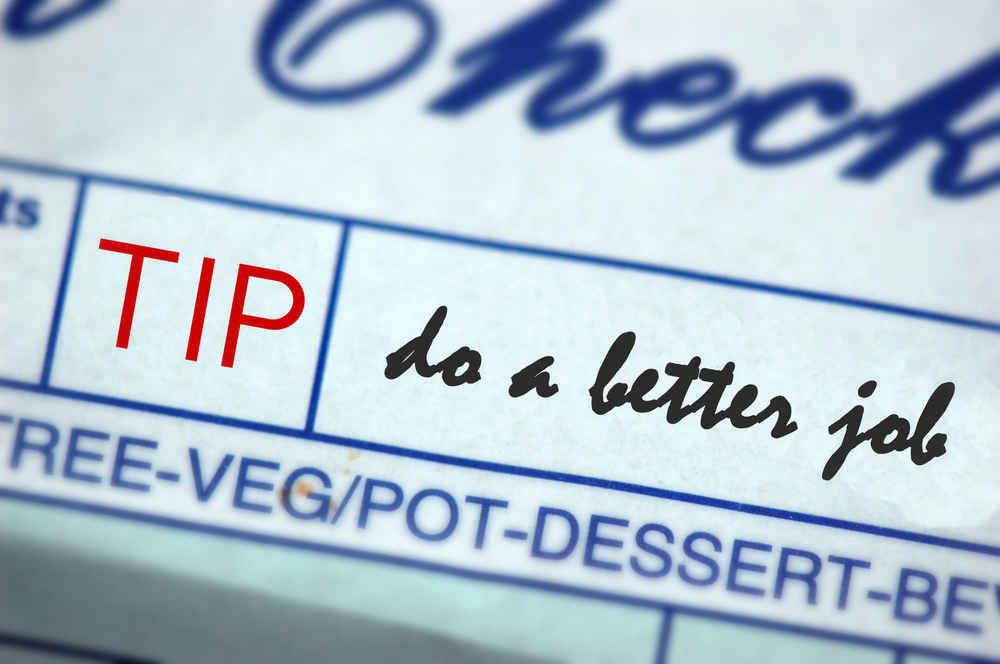 Why You Should Stop Tipping Reasons Not To Tip Thrillist