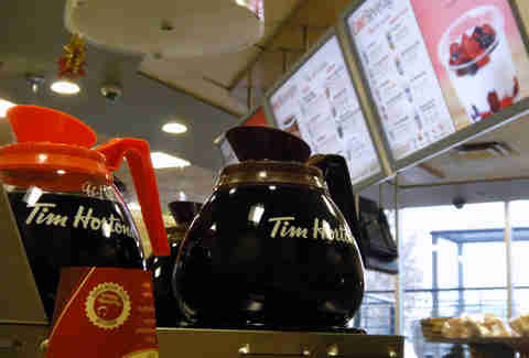 Tims coffee