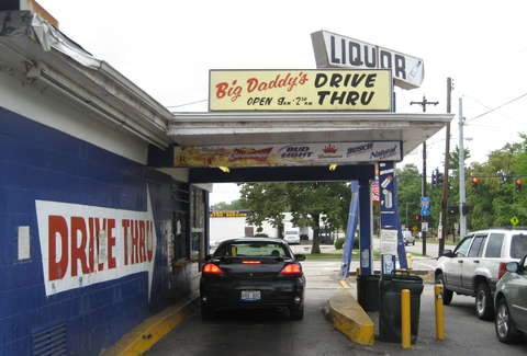 Drive thru liquor store houston