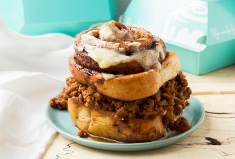 Sloppy Joe-stuffed Cinnabon - Thrillist Recipes