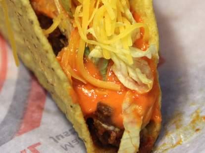 Taco Bell Sriracha Taco