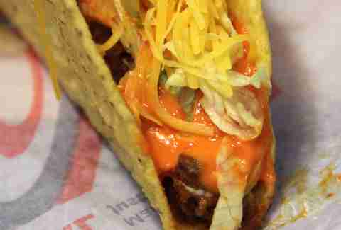 We tried Taco Bell's new Sriracha menu