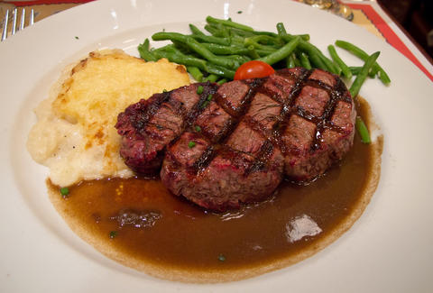 Filet de boeuf grille