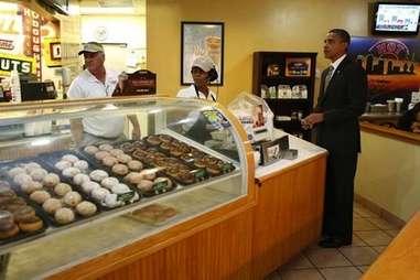 Obama Krispy Kreme