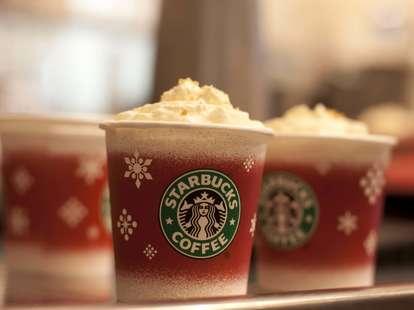 starbucks holiday latte