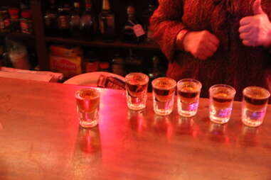 Cheapskate Tuesdays - Shots of Power at Lucy's