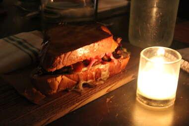 Cheapskate Tuesdays - The Brisket Sandwich at Duck's Eatery