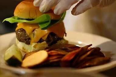 Cheapskate Tuesdays - Cheeseburger at The Cardinal