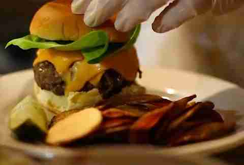 Cheapskate Tuesdays - Cheeseburger at The Cardinal