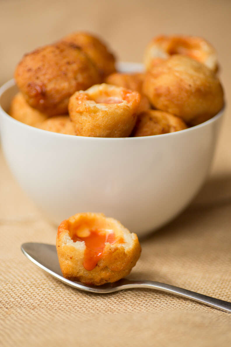 Grilled Cheese Tomato Soup Dumplings — Thrillist Recipes