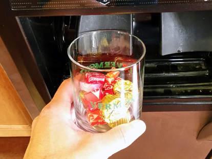 frozen candy dispenser